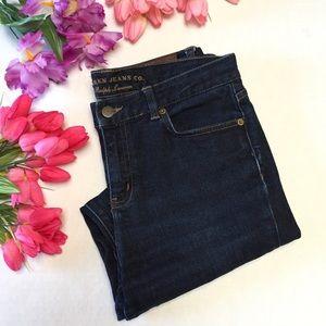 RALPH LAUREN Lauren Dark Wash Straight Leg Jeans